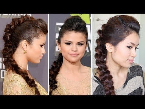 Hair Tutorials: How to Make a Celebrity-Inspired Hairstyle | Faux .