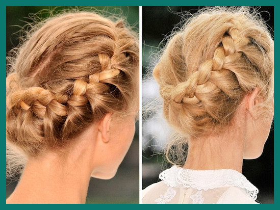 Crown Braid Hairstyle 169504 Royal Crown Braid Hair Tutorial Hair .