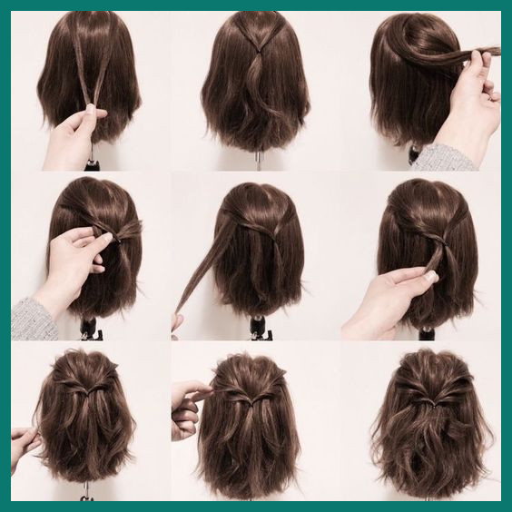 Different Hairstyles for Medium Hair 183321 15 Hair Tutorials for .