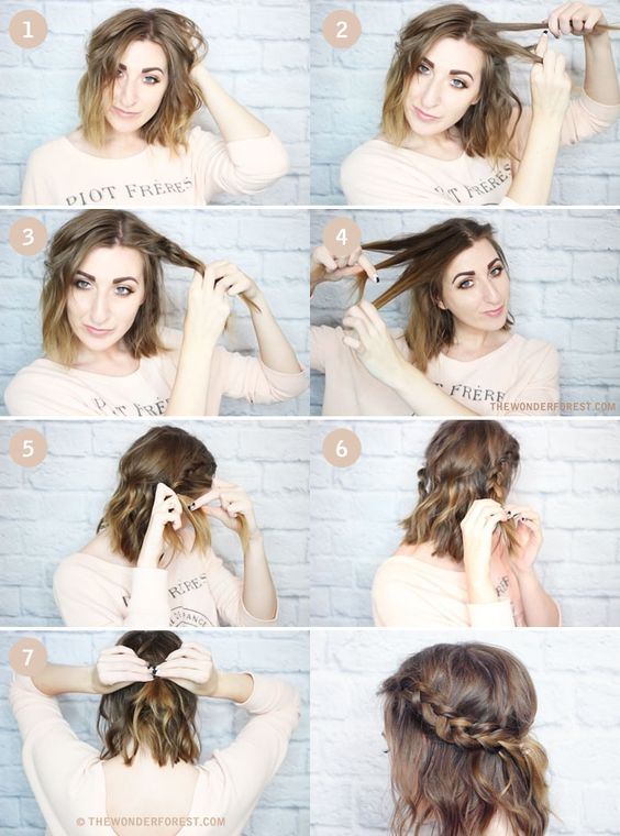 Hair Tutorials for Valentine's Day