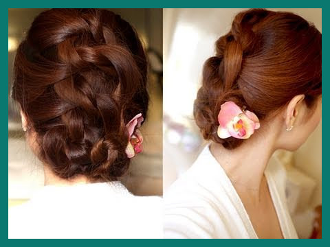 Knot Updo Hairstyles 217790 Easy Knotted Updo Hair Tutorial .