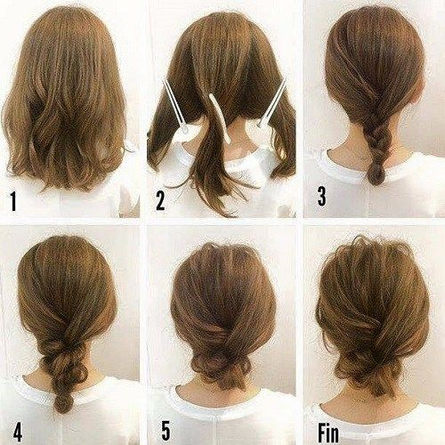 17 Hair Tutorials You Can Totally DIY | Hair tutorials for medium .