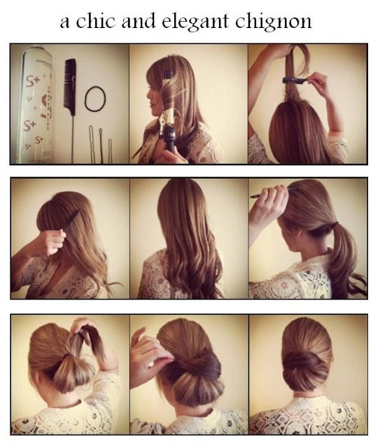 Hair Tutorials: 20 Ways to Style Your Hair in Summer - Hairstyles .