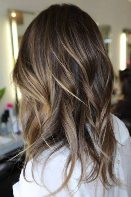 10 Hair Tutorials to Try: How to Teased Hair   Subtle brunette .