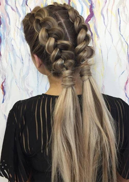 51 Pretty Holiday Hairstyles For Every Christmas Outfit | Braids .