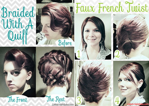 10 Fabulous Hair Tutorials For Short Ha