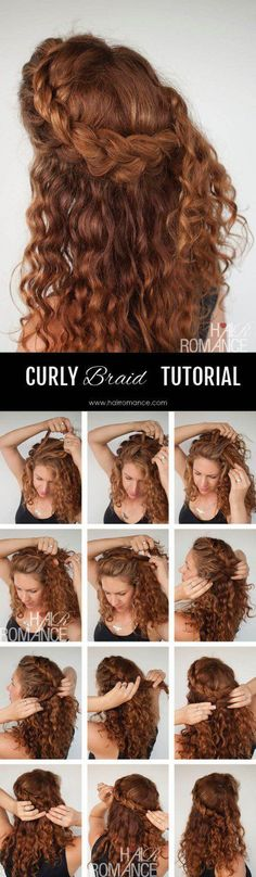 108 Best Curly hair updo images | Long hair styles, Hair styles .