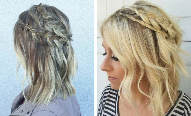 17 Chic Braided Hairstyles for Medium Length Hair | StayGl