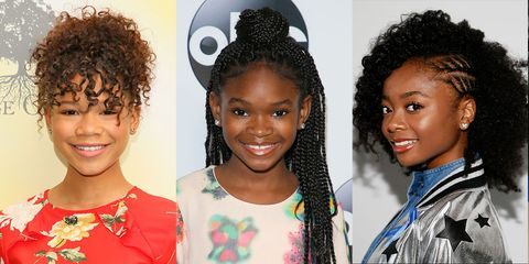 14 Easy Hairstyles for Black Girls - Natural Hairstyles for Ki