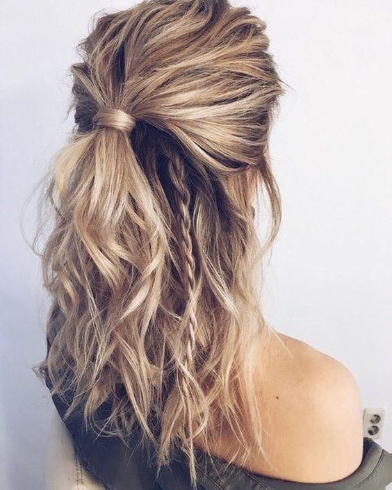 Hairstyles for Everyday: Half Updo Braid   Hair