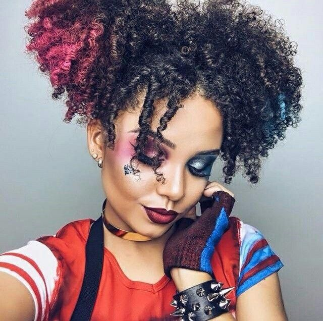 15 Halloween Ideas for Curly Girls | Natural hair styles, Hair .