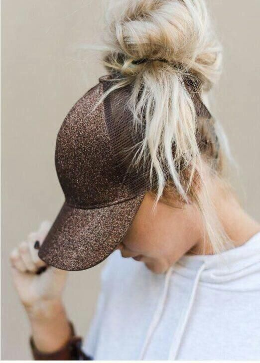 This is the perfect cap for all the ponytail and bun wearers out .
