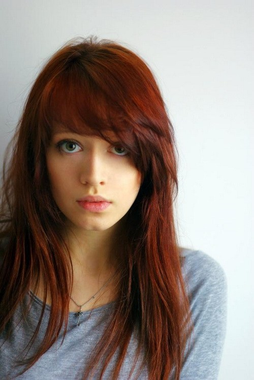 Hairstyles for Long Face Girls