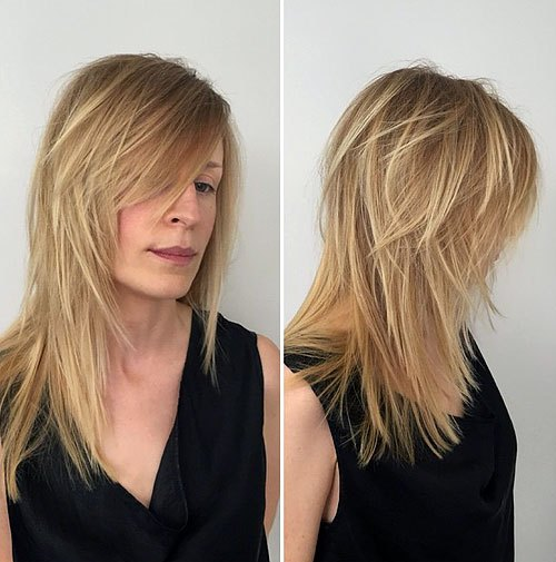 40 Long Hairstyles and Haircuts for Fine Hair with an Illusion of .