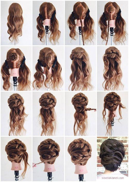 Long Hair Updos, How to Style for Prom, Hairstyle Tutorials | Hair .