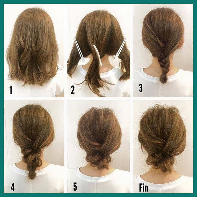 Hairstyle Medium Hair 539959 40 Quick and Easy Updos for Medium .