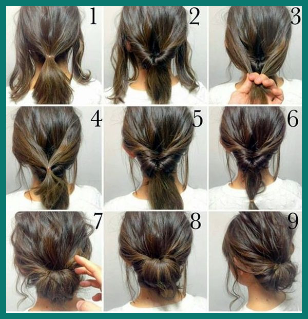 Quick Easy Hairstyles for Medium Hair 269595 Quick Hairstyle .