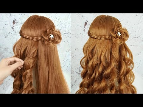 Easy Beautiful Hairstyles For Girls - Hairstyles For Girls For .