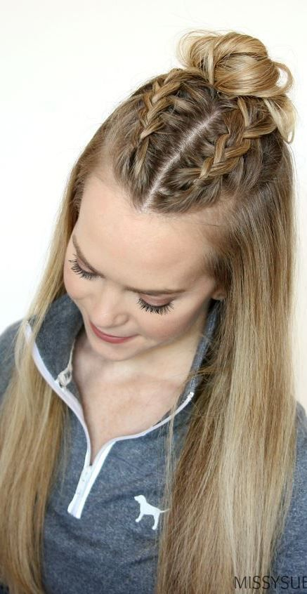 Classy And Simple Hairstyle Ideas For Thick Hair #hairinspiration .