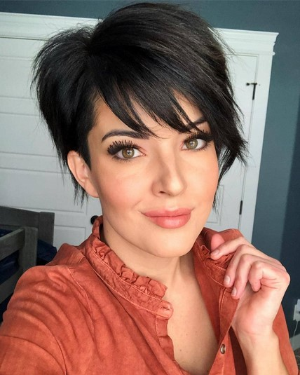 SHORT HAIRCUTS/HAIRSTYLES FOR THICK HAIR AND TIPS * Sayfa 3 / 4 .