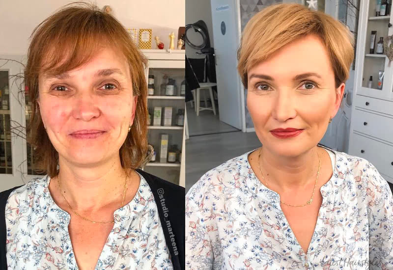 18 Flattering Haircuts for Women Over 40 in 20