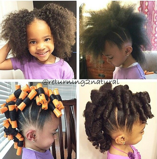 Cute lil girls mohawk hairstyle | Hair styles, Lil girl hairstyl