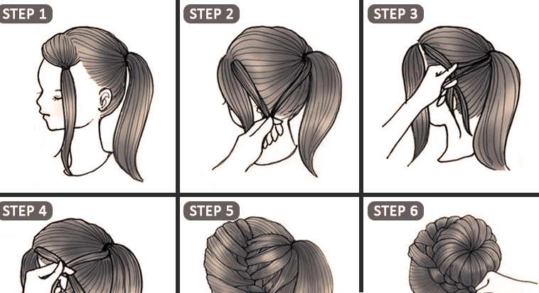 Make 10 Cute Hairstyles In Only 2 Minut
