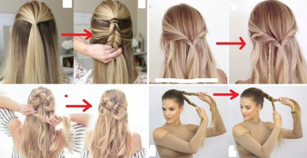 Ready in 5 Minutes: Easy Hairstyles For Trendy Gir