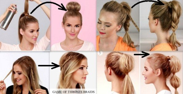 14 Cute And Easy Ways To Create Awesome Hairstyle For Less Than 2 .