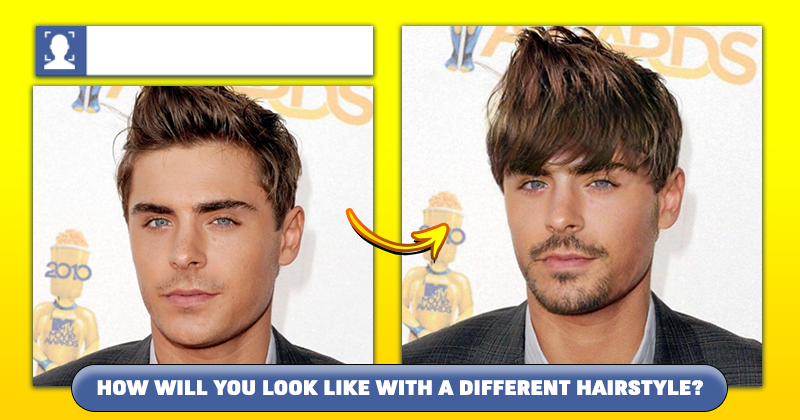 How will you look like with a different hairstyl