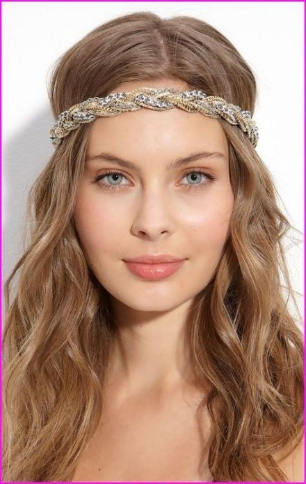 70+ super Ideas for wedding hairstyles with headband on forehead .