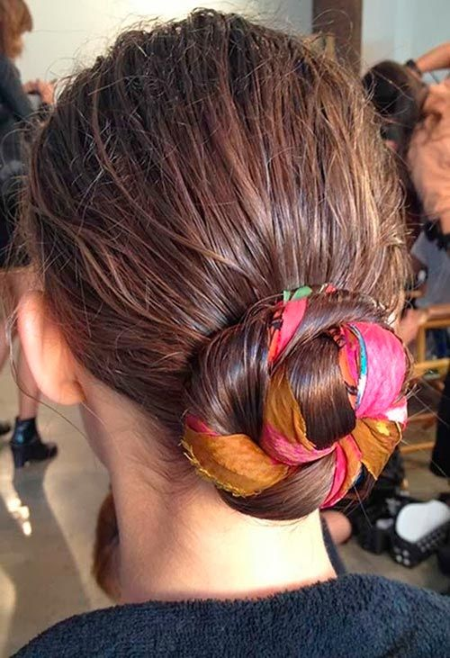 Fab Hairstyles with Ribbons You Need To Try | Ribbon hairstyle .