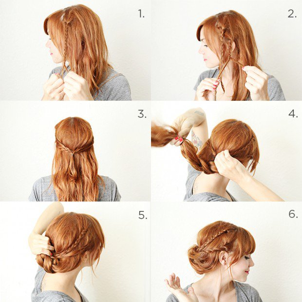 Top Inspiration 49+ Hairstyle Easy Step By St