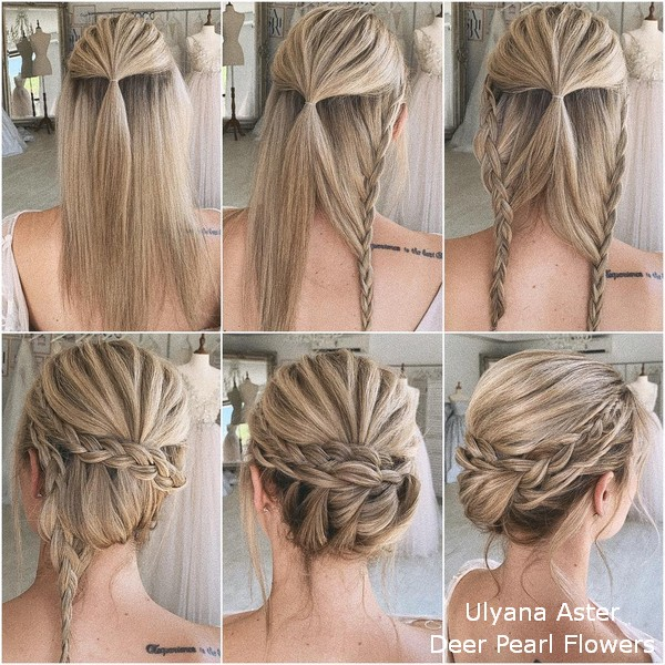 18 Wedding Hairstyles Tutorials for Brides and Bridesmaids | Deer .