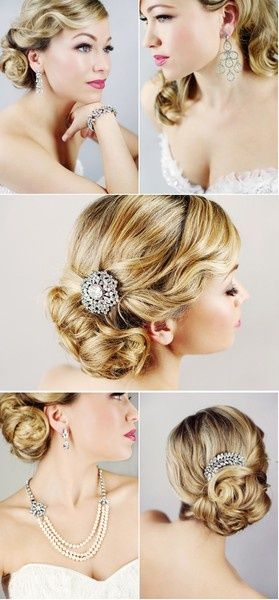 Breathtaking Fall Wedding Trends | Hollywood glamour hair, Glamour .