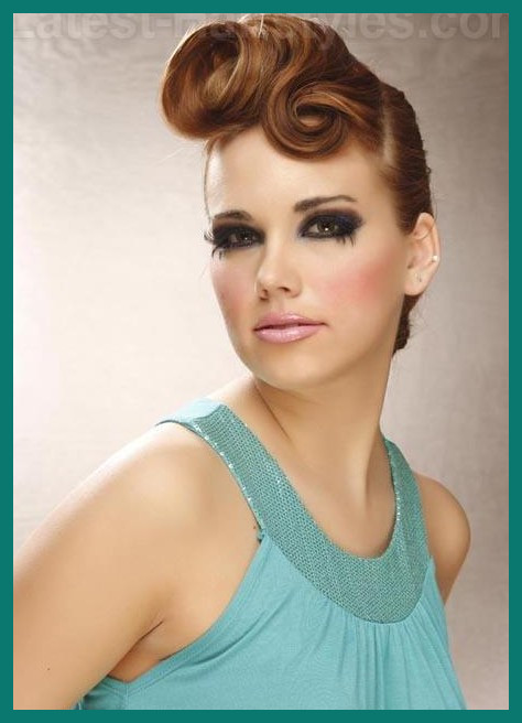 Glamorous Hairstyles 288883 10 Glamorous Hairstyles with Vintage .