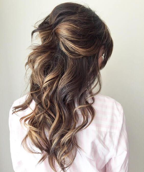 62 Half Up Half Down Wedding Hairstyles Fall in Love With .