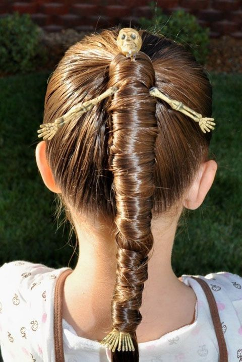 17 cool Halloween hairstyles, tutorials and iconic hairstyle wigs .