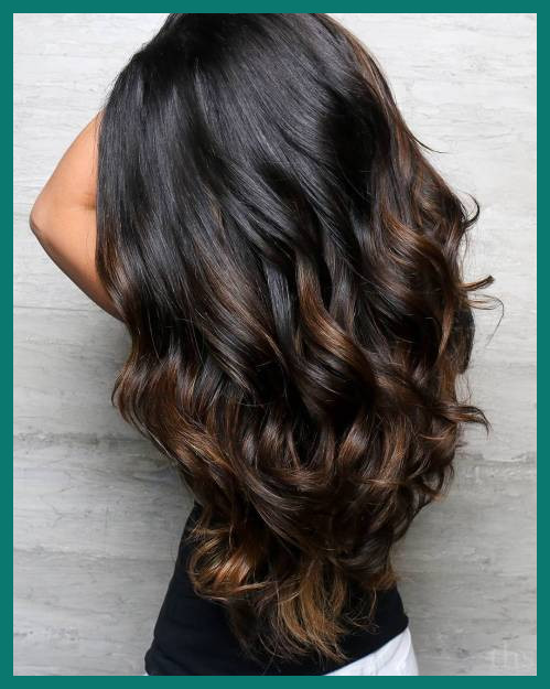 Highlights Hair Color for Black Hair 29348 60 Hairstyles Featuring .