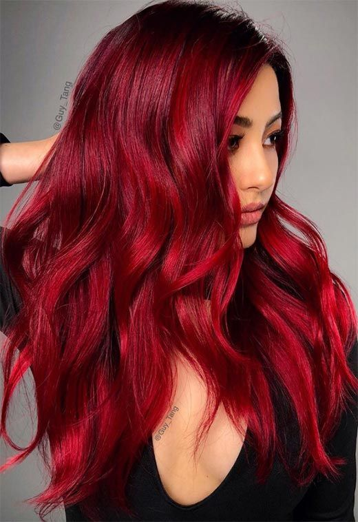 Red Hair Color : 63 Hot Red Hair Color Shades to Dye for: Red Hair .