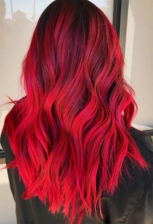 Hottest Red Hair Color Ideas