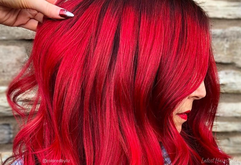 Red Balayage Hair Colors: 19 Hottest Examples for 20