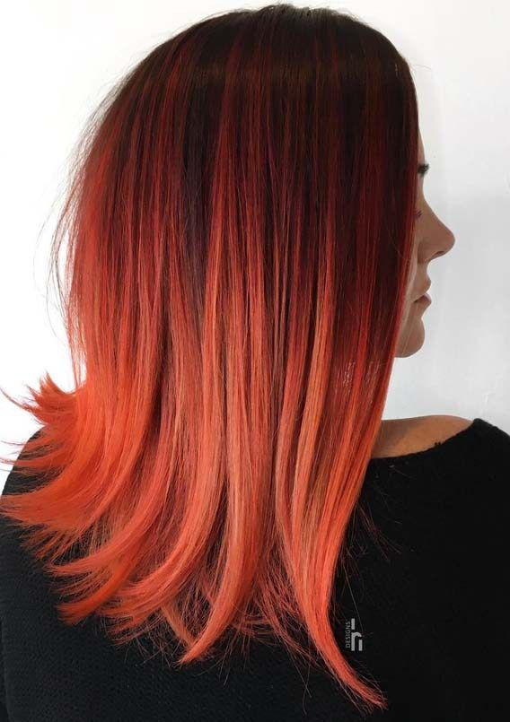 Hottest Red Hair Color Ideas You Must Try Nowadays   Red hair .