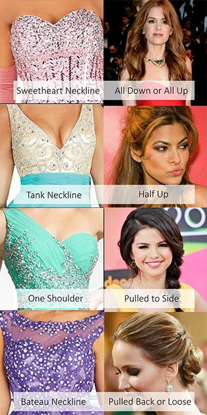 Prom Hair Guide -- How to choose your perfect prom 'do | Prom hair .