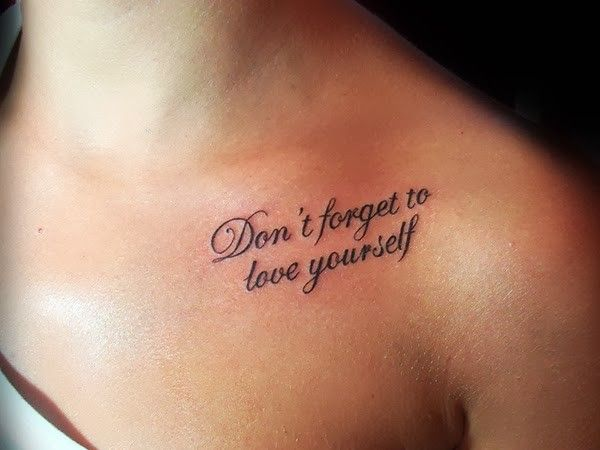 How to Choose Your Quote Tattoos | Meaningful tattoo quotes, Love .