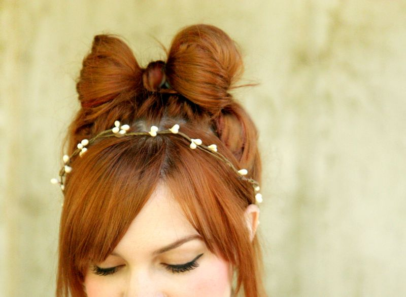How To Style a Hair Bow - A Beautiful Me