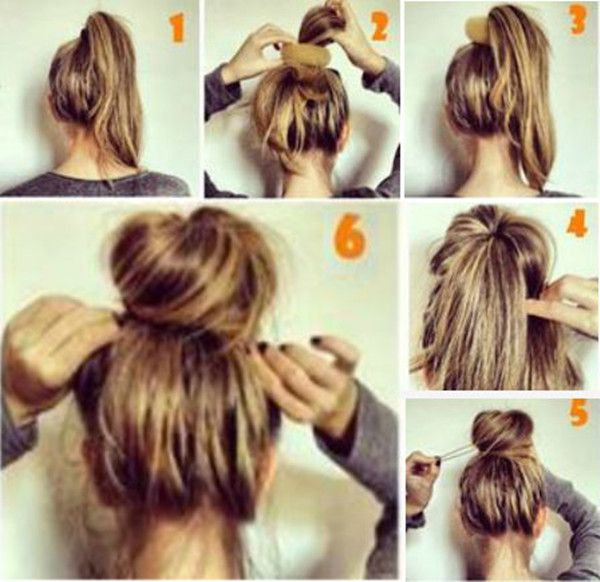15 Easy Office Hair Fix | Thin hair updo, Hair styles, Messy .