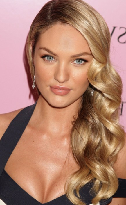 Hairdos for Summer Season - Side Swept Curls | Talk Hairstyl