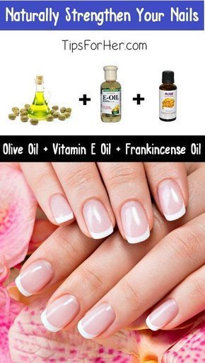Naturally Strengthen Your Nails | Nail strengthener, Nails at ho