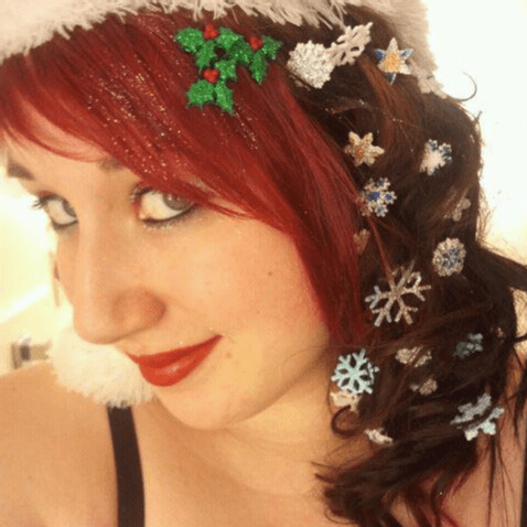10 Fierce Christmas Hair Ideas to Spice Up Your Holiday .